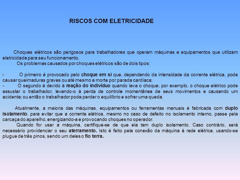 RISCOS COM ELETRICIDADE