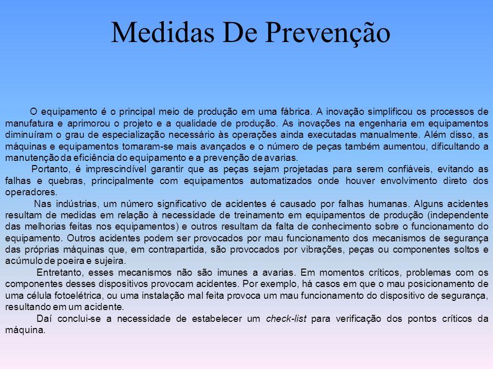 Medidas De Prevenção