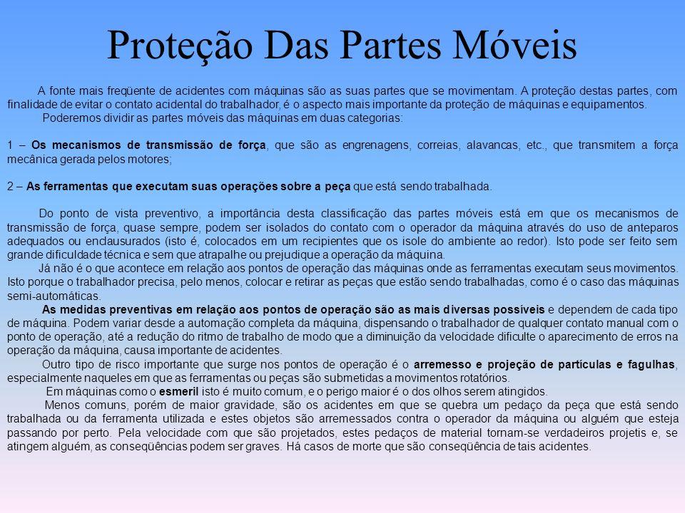 Proteção Das Partes Móveis