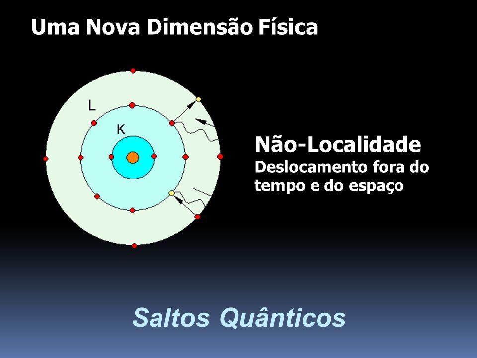Saltos Quânticos Uma Nova Dimensão Física Não-Localidade