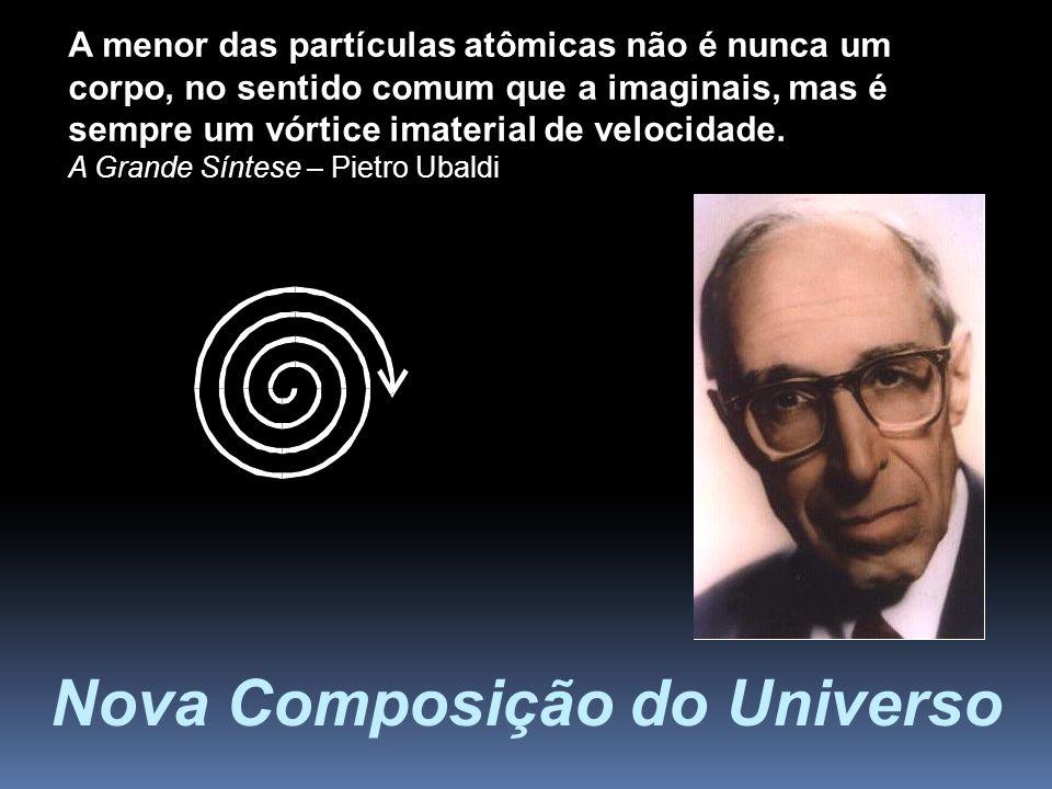 Nova Composição do Universo