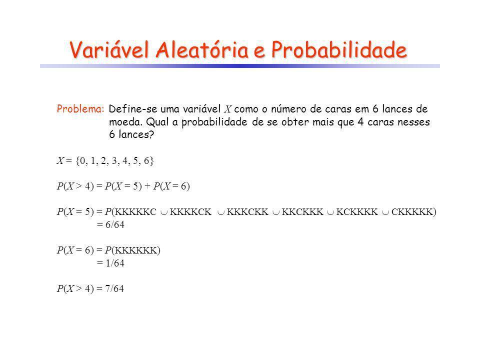 Variável Aleatória e Probabilidade