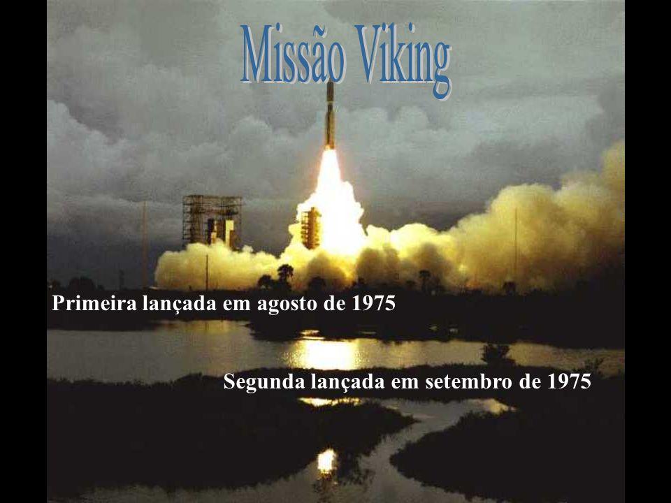 Missão Viking Primeira lançada em agosto de 1975