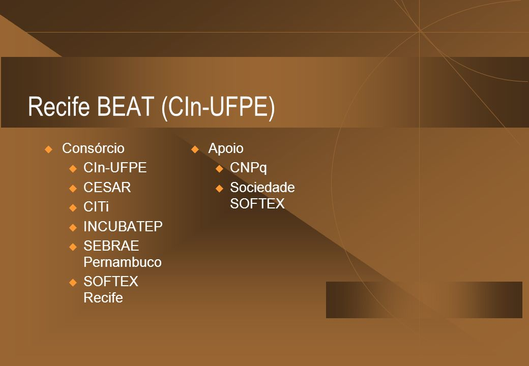 Recife BEAT (CIn-UFPE)