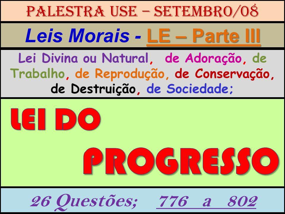 Leis Morais - LE – Parte III