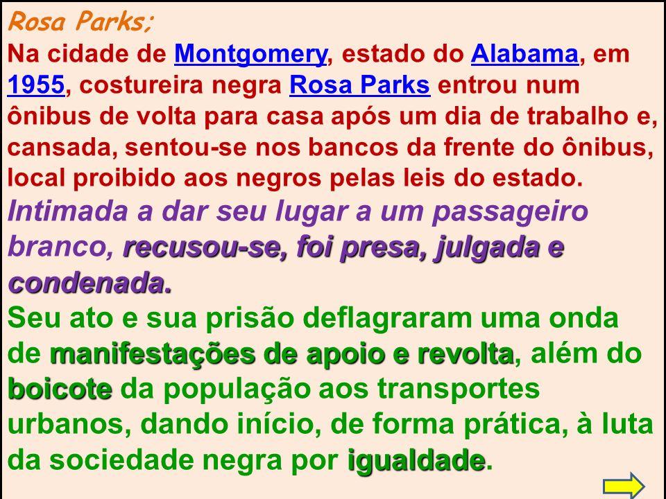 Rosa Parks;