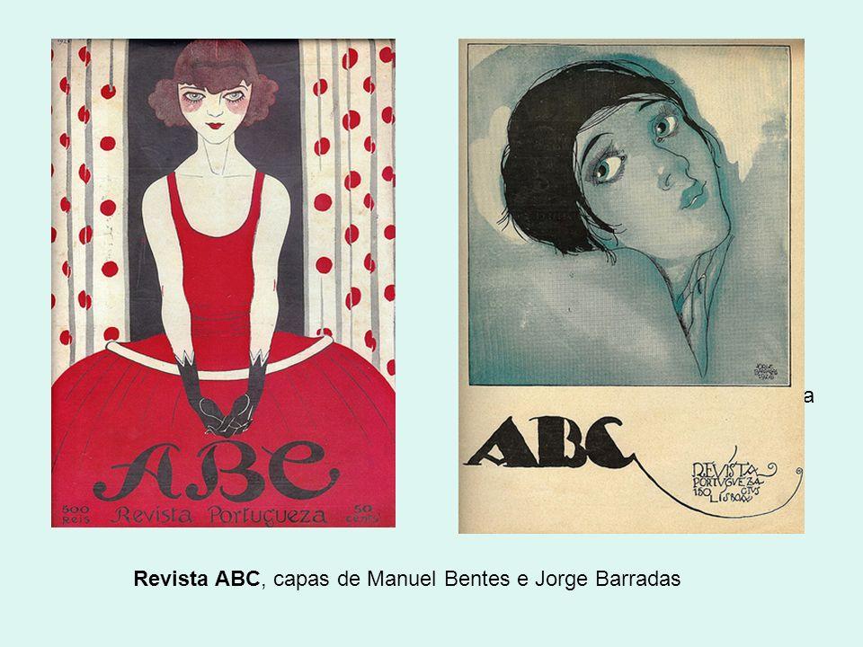 Revista ABC, capas de Manuel Bentes e Jorge Barradas