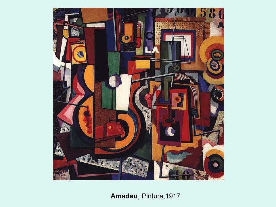 Amadeu, Pintura,1917