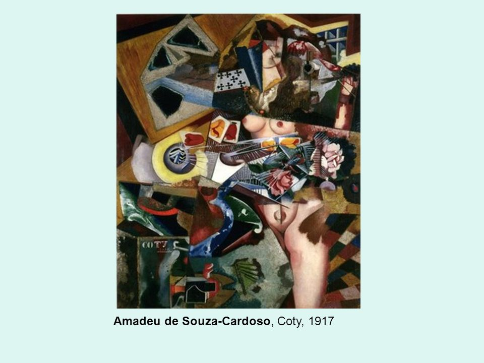 Amadeu de Souza-Cardoso, Coty, 1917