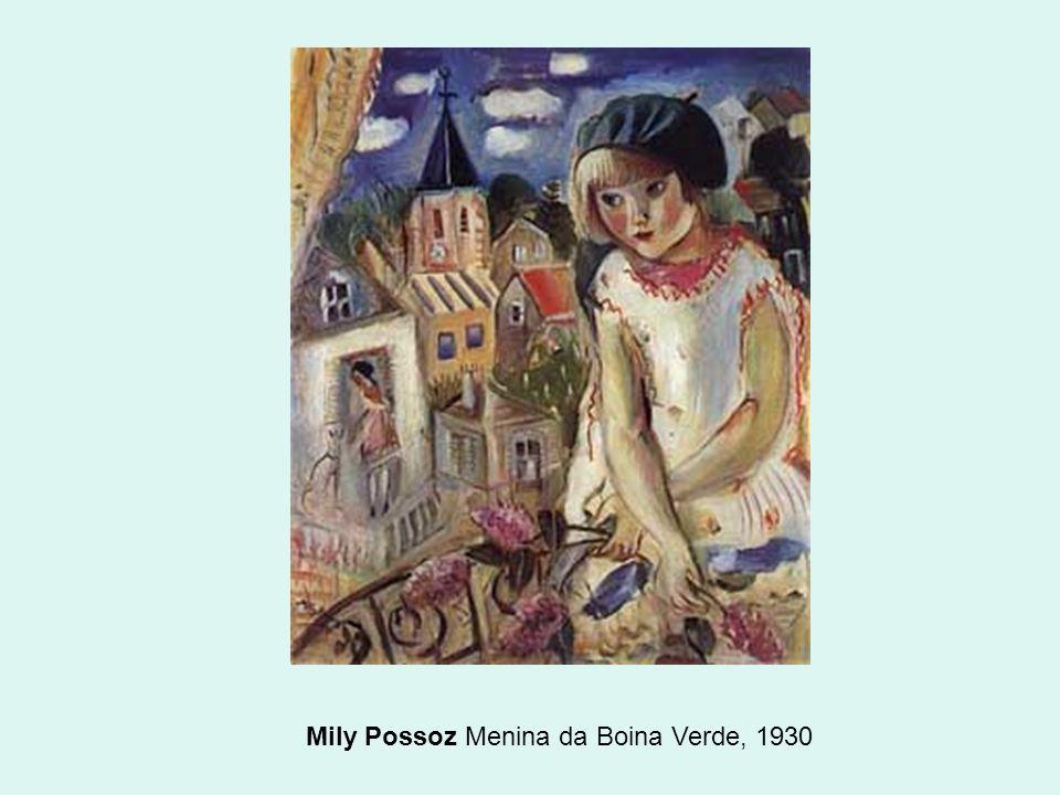 Mily Possoz Menina da Boina Verde, 1930