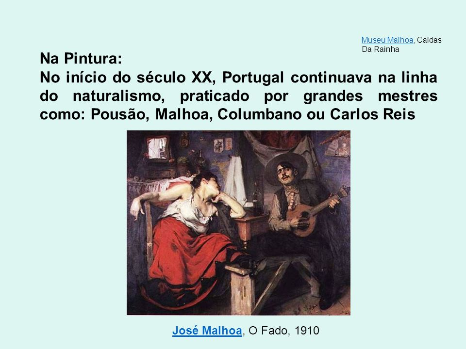 Museu Malhoa, Caldas Da Rainha. Na Pintura:
