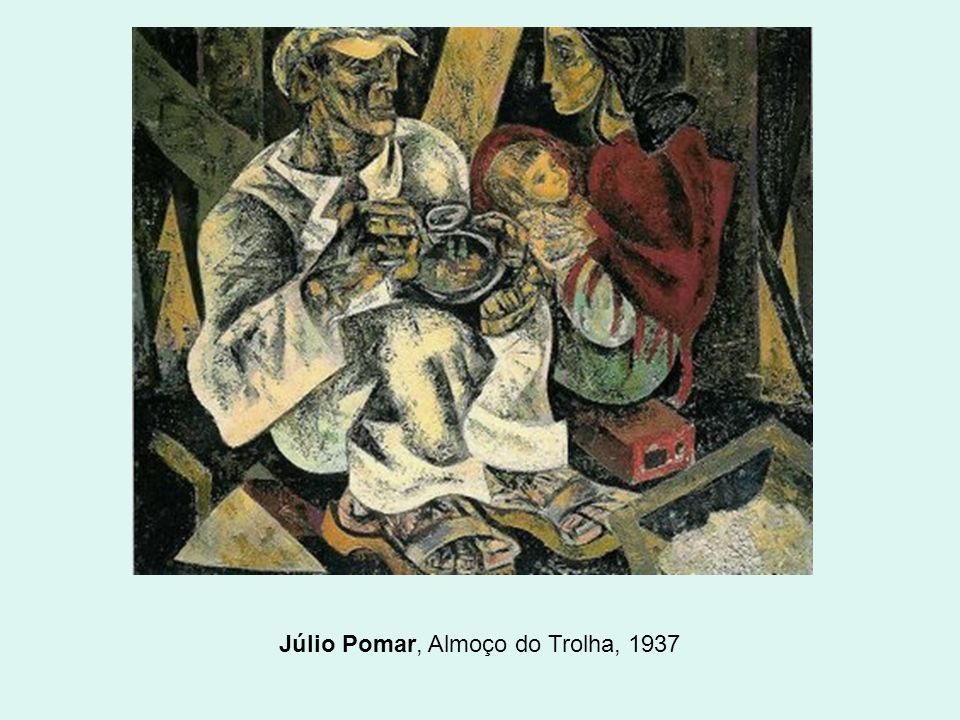 Júlio Pomar, Almoço do Trolha, 1937