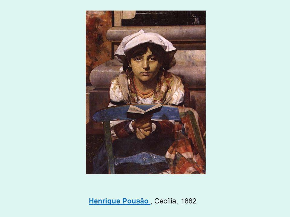 Henrique Pousão , Cecília, 1882
