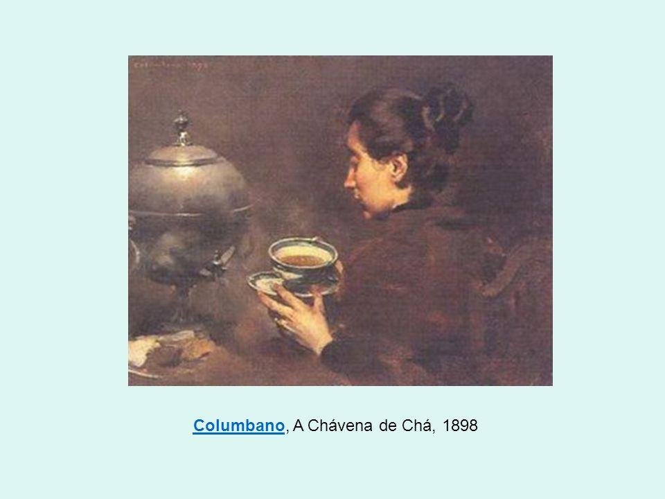 Columbano, A Chávena de Chá, 1898