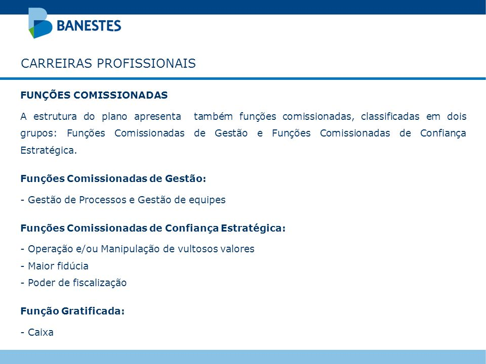 CARREIRAS PROFISSIONAIS