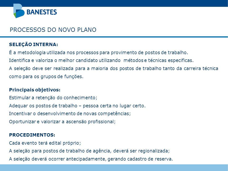 PROCESSOS DO NOVO PLANO