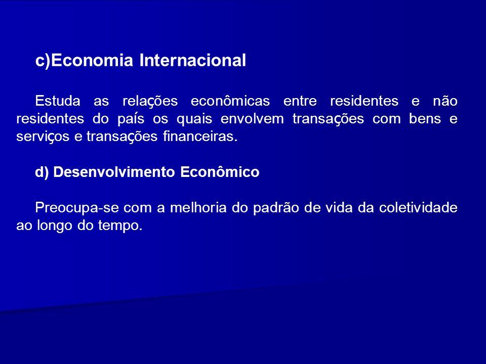 c)Economia Internacional