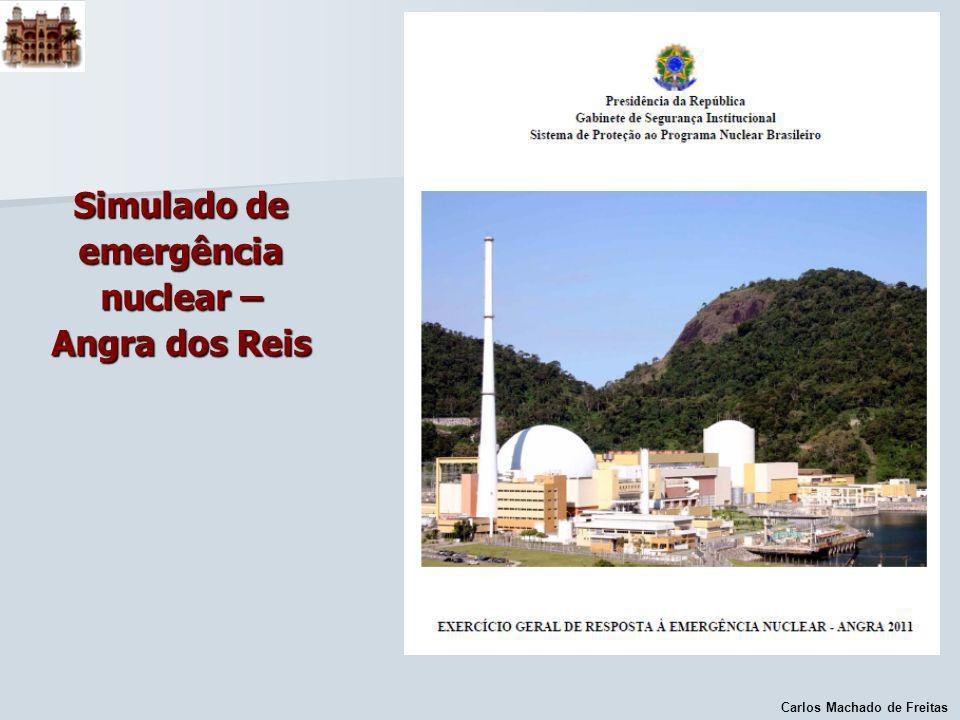 Simulado de emergência nuclear – Angra dos Reis