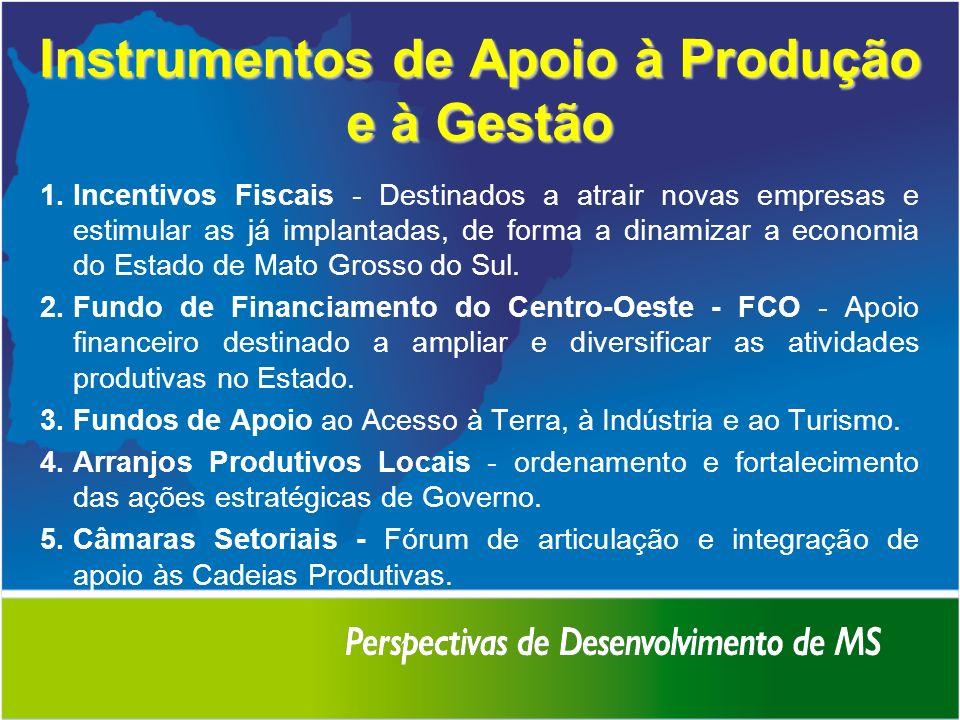 Instrumentos de Apoio à Produção e à Gestão