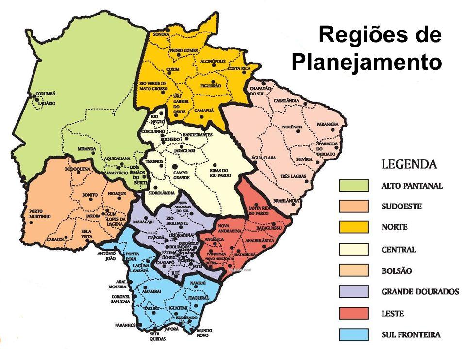 Regiões de Planejamento
