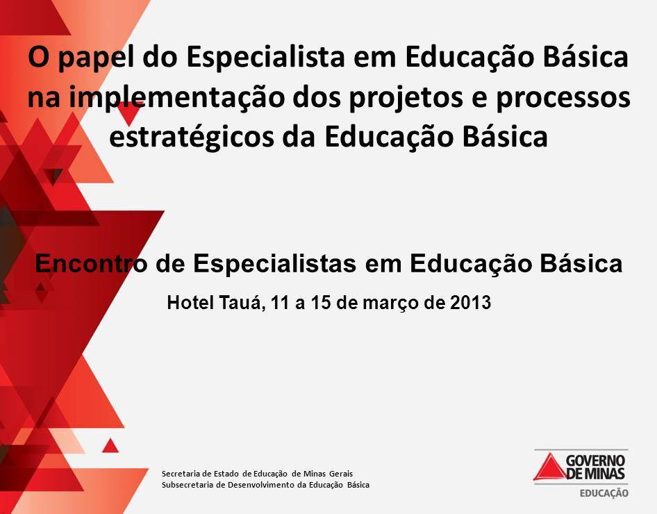 Encontro de Especialistas em Educação Básica