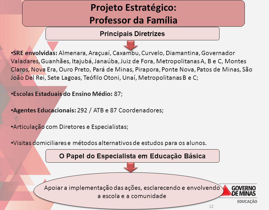 Principais Diretrizes O Papel do Especialista em Educação Básica