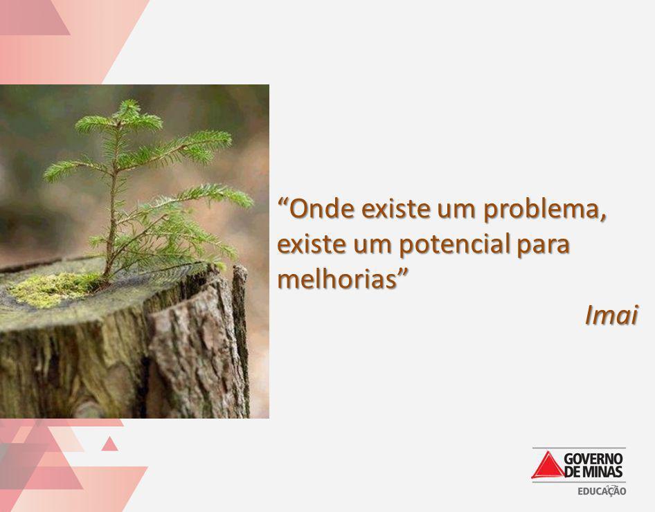 Onde existe um problema, existe um potencial para melhorias