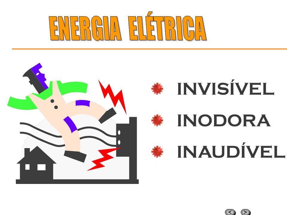 ENERGIA ELÉTRICA INVISÍVEL INODORA INAUDÍVEL
