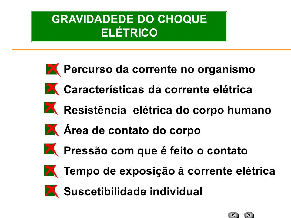 GRAVIDADEDE DO CHOQUE ELÉTRICO