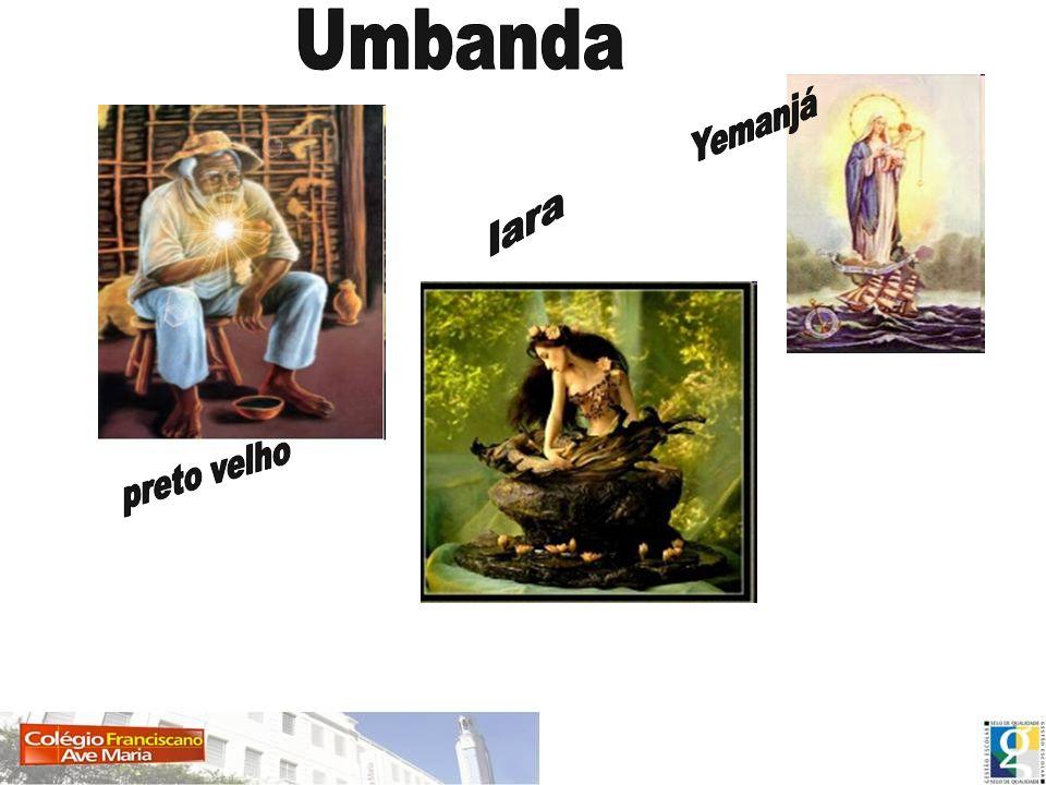 Umbanda Yemanjá Iara preto velho