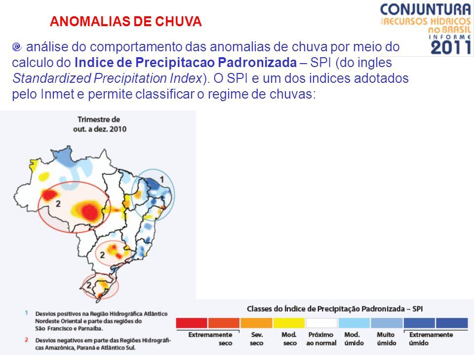 ANOMALIAS DE CHUVA