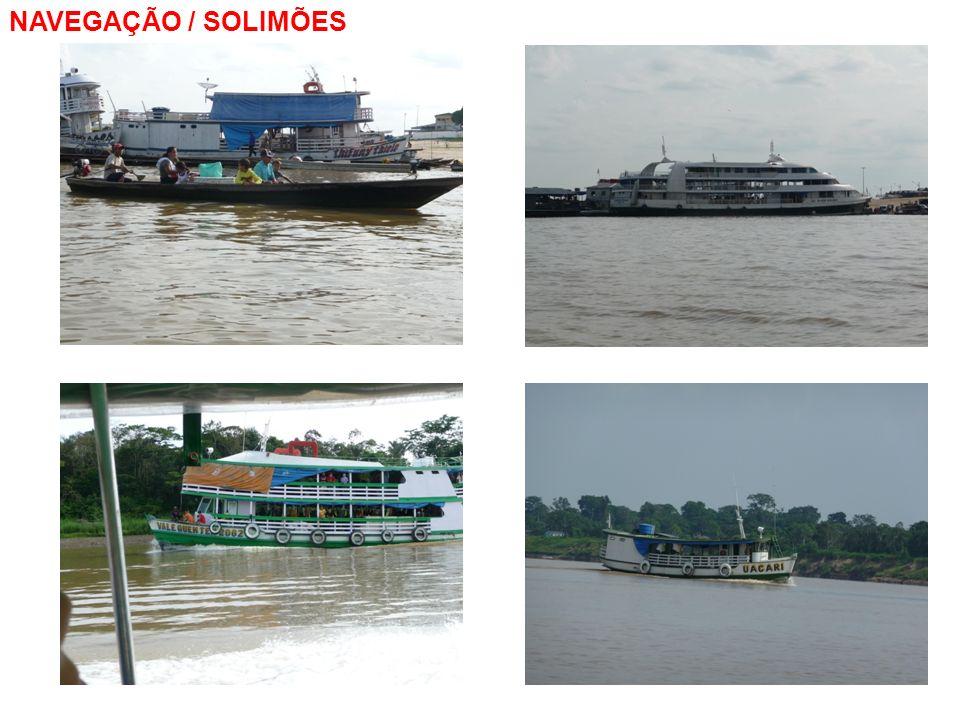 NAVEGAÇÃO / SOLIMÕES pós - educação ambiental / gestão dos recursos hídricos