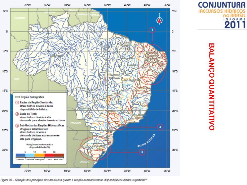 BALANÇO QUANTITATIVO pós - educação ambiental / gestão dos recursos hídricos