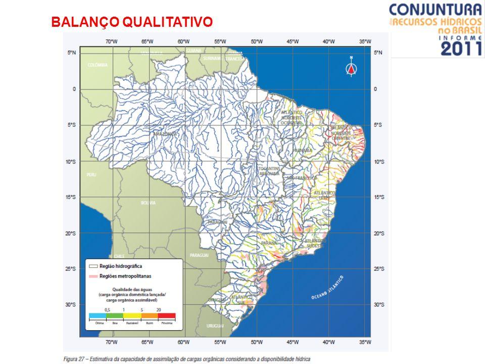 BALANÇO QUALITATIVO pós - educação ambiental / gestão dos recursos hídricos