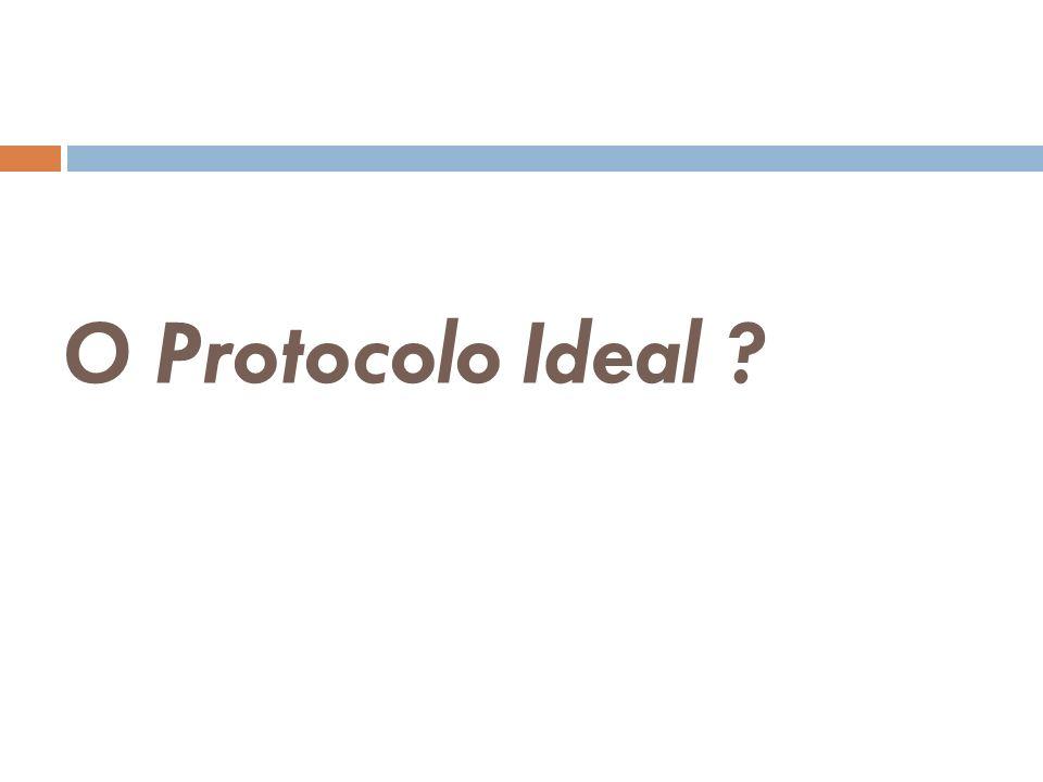 O Protocolo Ideal