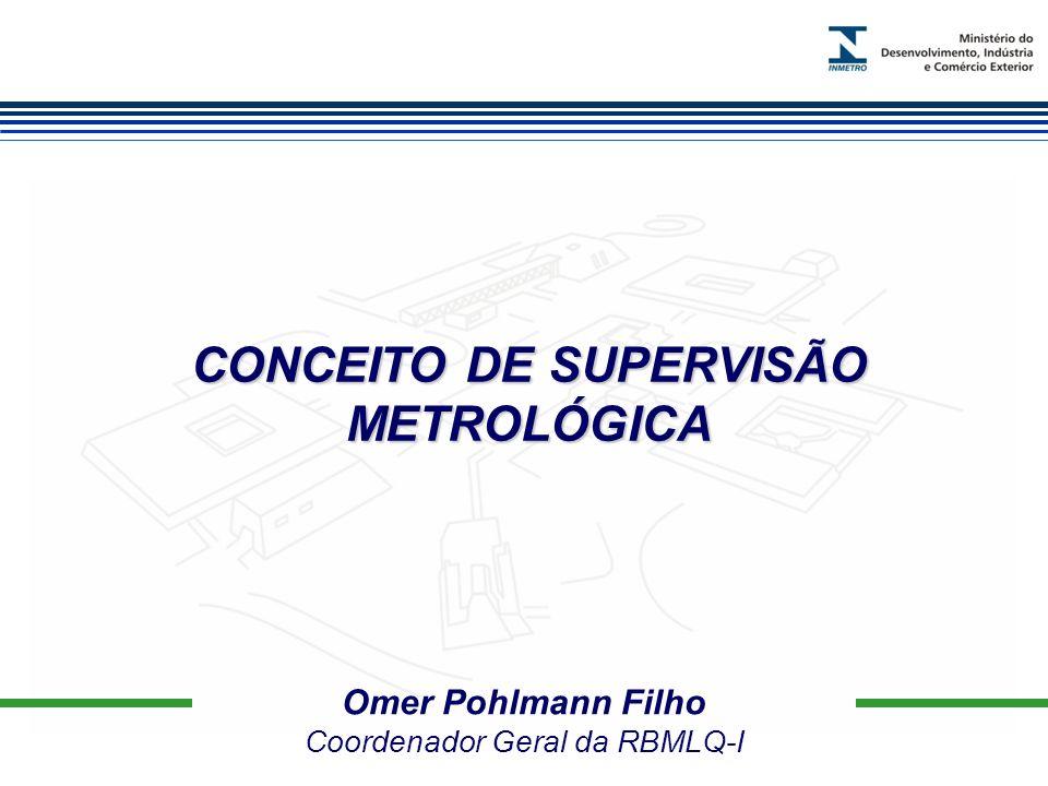 CONCEITO DE SUPERVISÃO METROLÓGICA