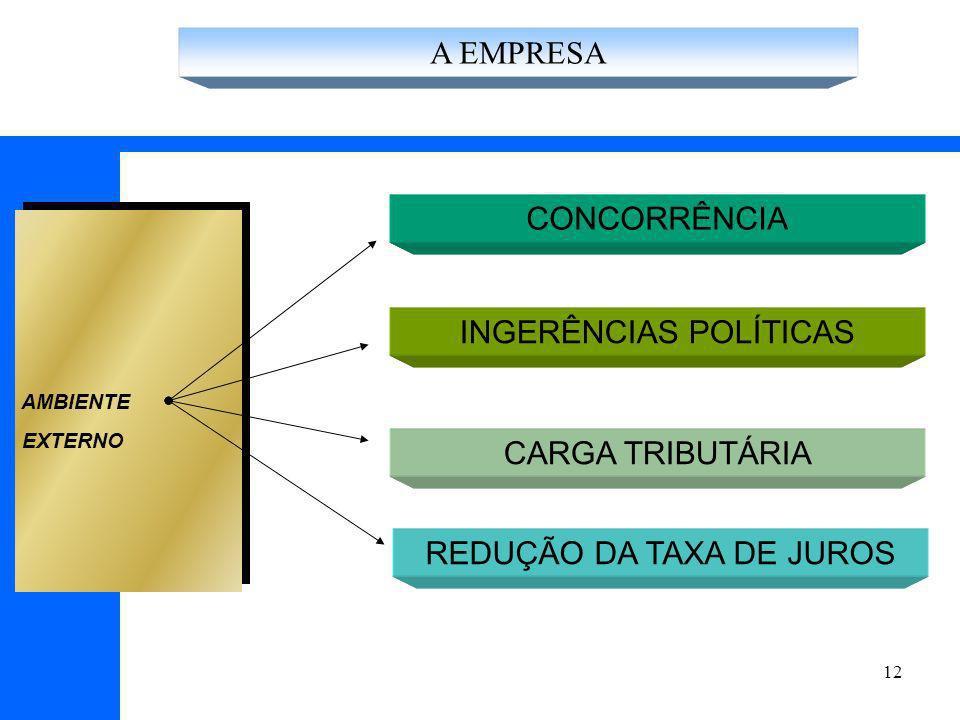 INGERÊNCIAS POLÍTICAS