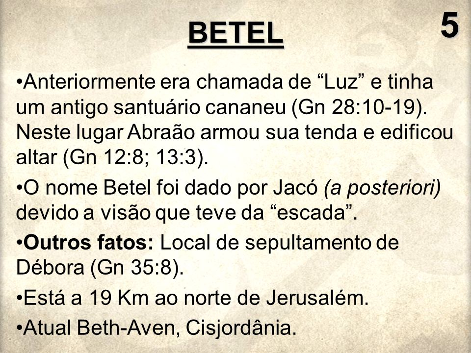 5 BETEL.