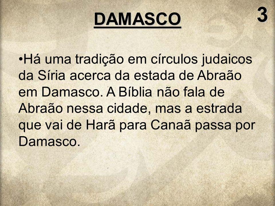3 DAMASCO.