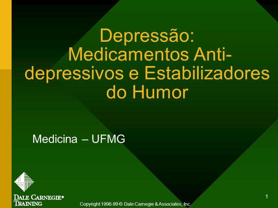 Depressão: Medicamentos Anti-depressivos e Estabilizadores do Humor