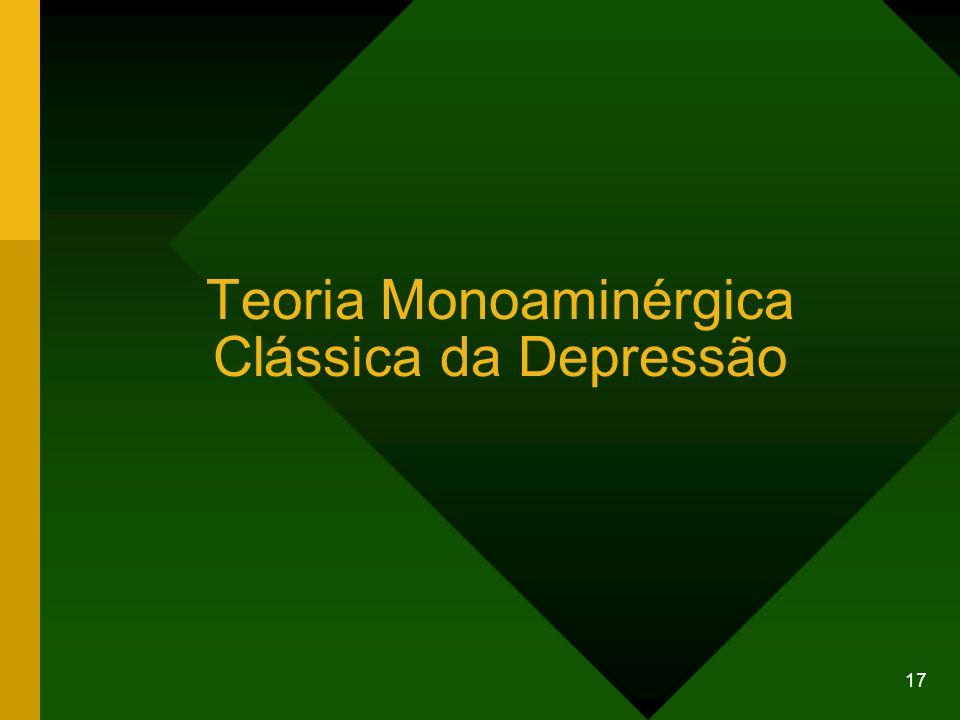 Teoria Monoaminérgica Clássica da Depressão