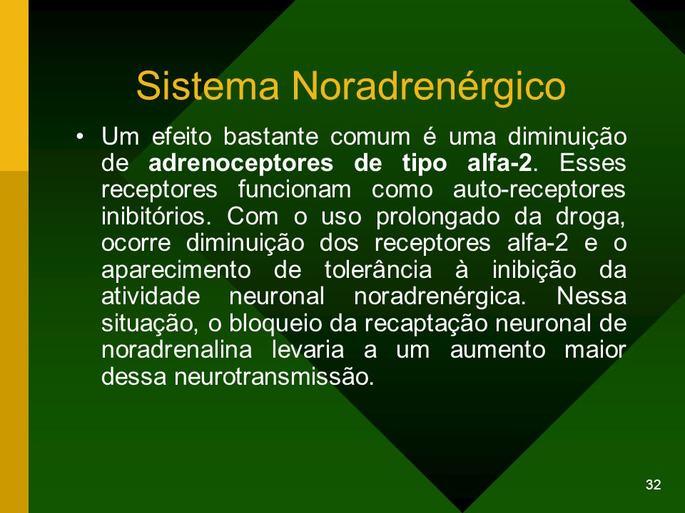 Sistema Noradrenérgico