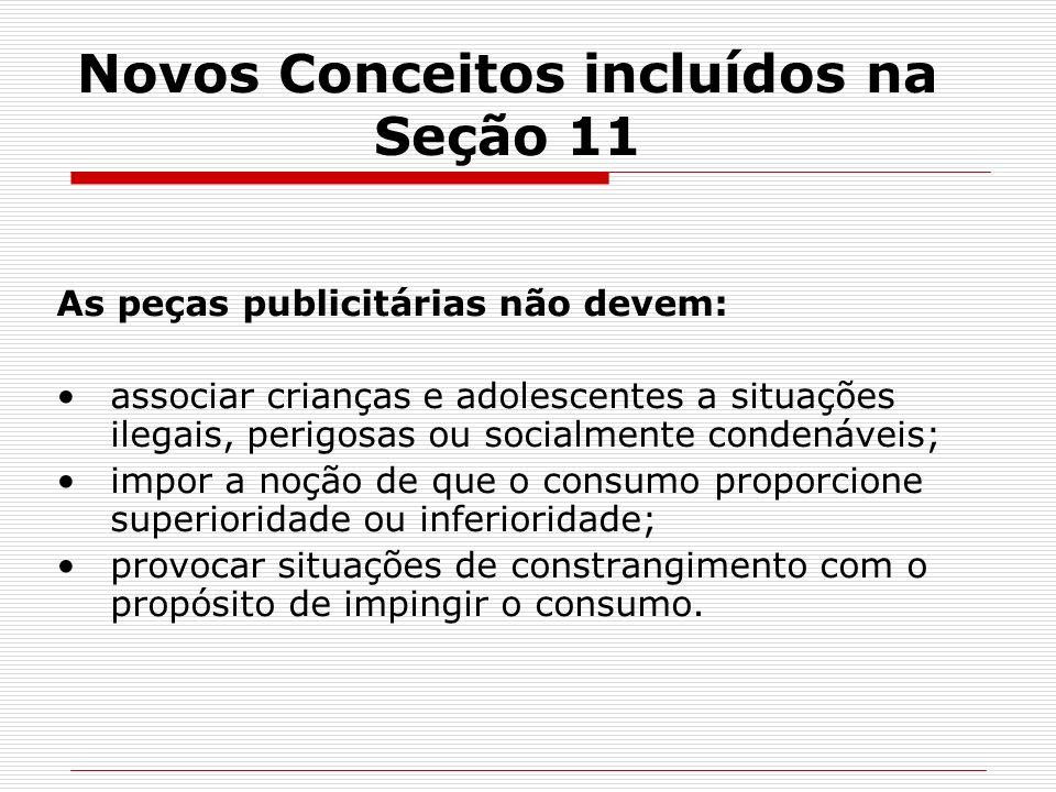 Novos Conceitos incluídos na Seção 11