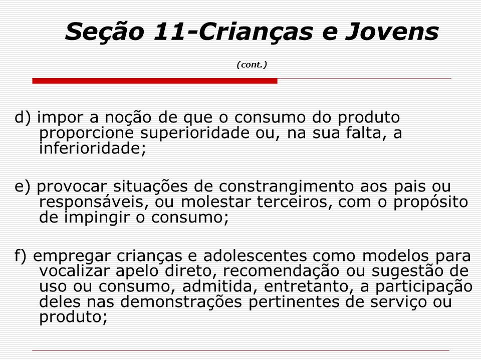 Seção 11-Crianças e Jovens (cont.)