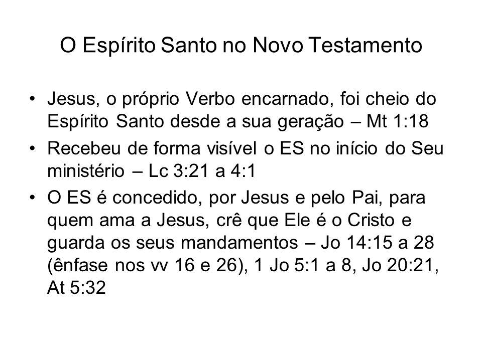 O Espírito Santo no Novo Testamento