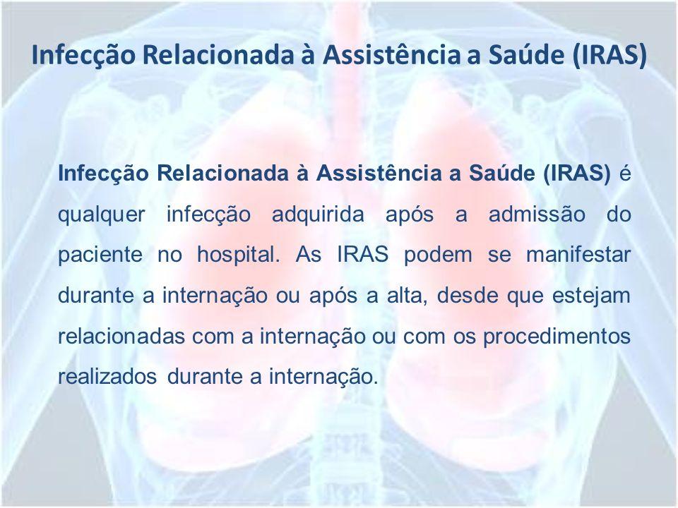 Infecção Relacionada à Assistência a Saúde (IRAS)