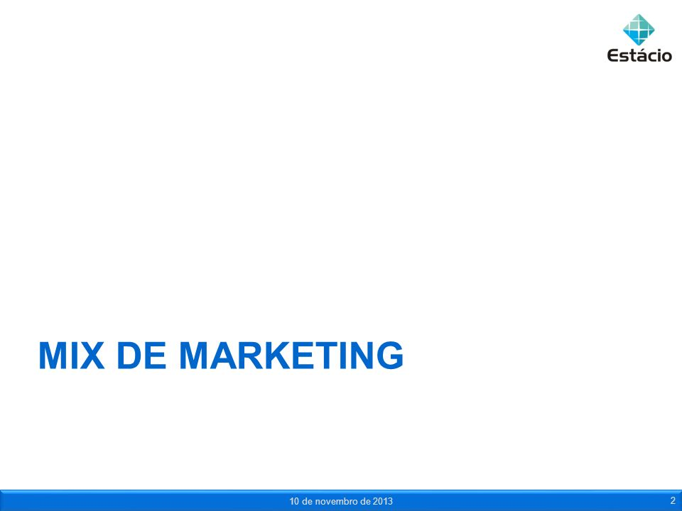 Mix de marketing 23 de março de 2017
