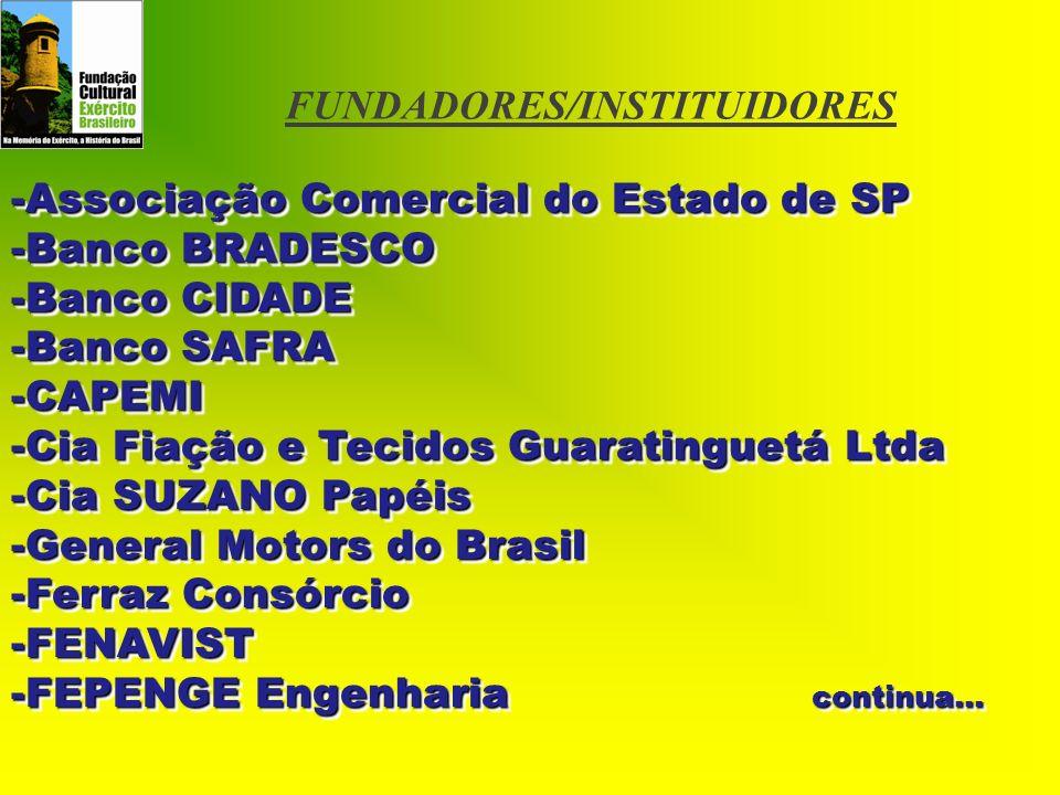 FUNDADORES/INSTITUIDORES