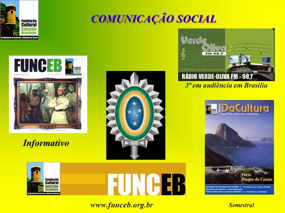 COMUNICAÇÃO SOCIAL Informativo www.funceb.org.br