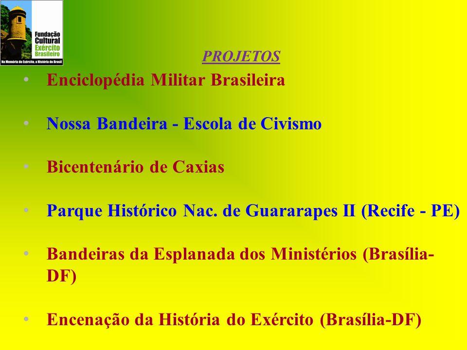 Enciclopédia Militar Brasileira Nossa Bandeira - Escola de Civismo